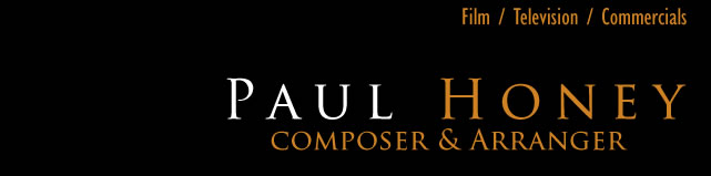 Paul Honey - Musician and Composer for Film, Television and Commercials